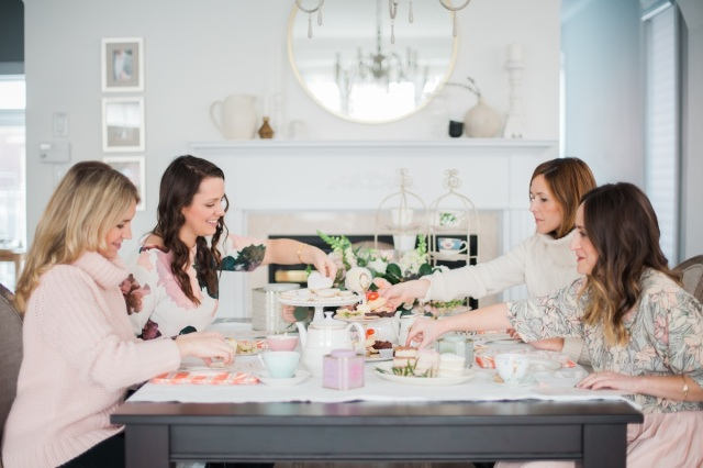 girls-tea-party