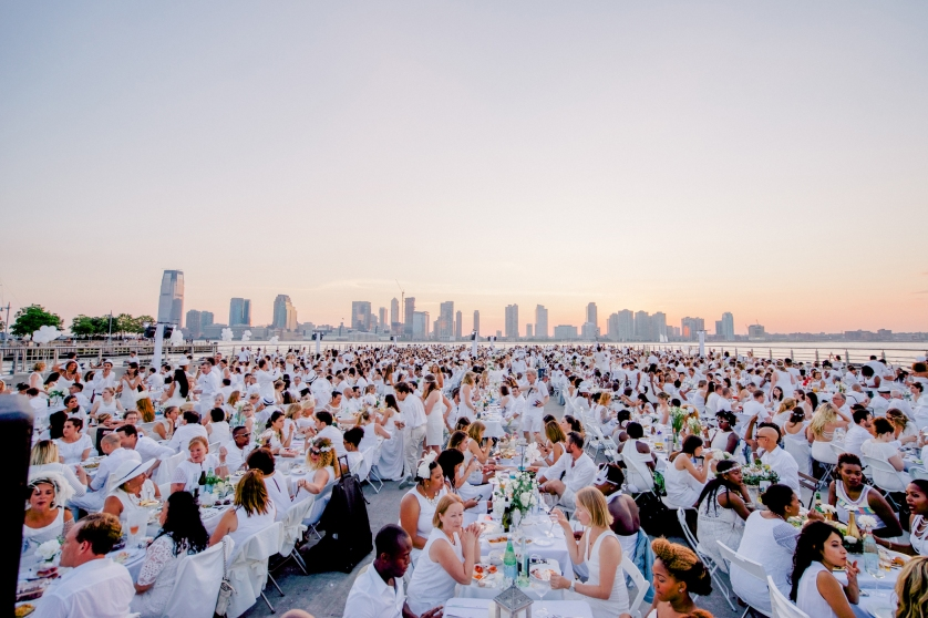 3Diner en Blanc 2015 New York photo Joe Cavallini-11