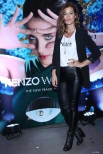 Eugenia Tobal en la presentación de Kenzo World. La actriz representa la pasión, uno de los atributos de la fragancia