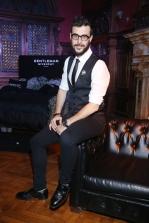 Diego Leuco en el cocktail party de The New Gentleman de Givenchy