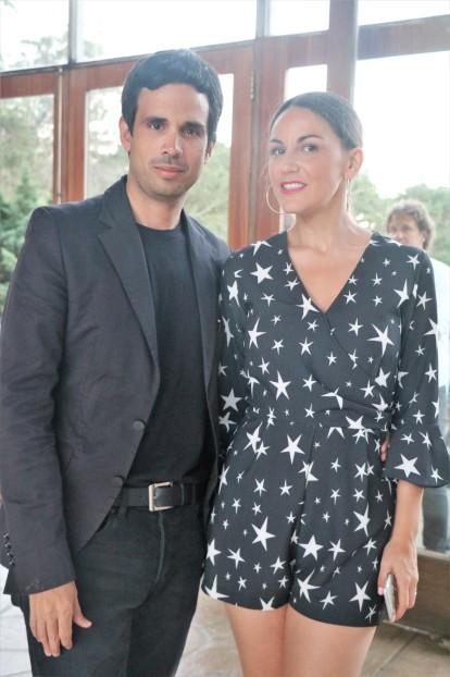 Lucía Martinez Nash y Julio Pacheco