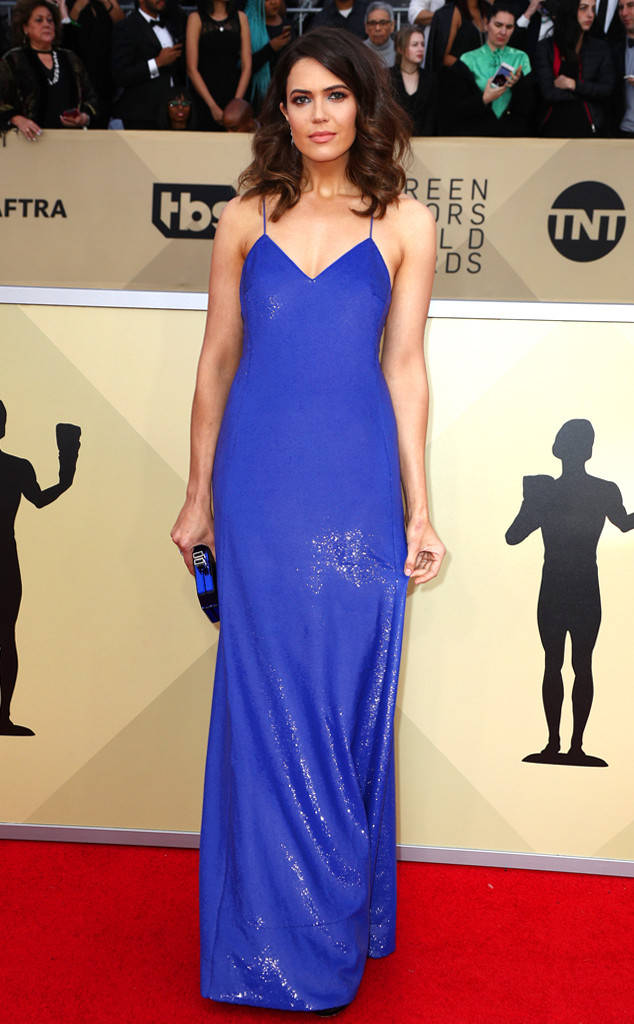 Mandy Moore en Ralph Lauren, Getty Images