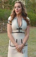 Gucci-Crystal-Trim-Jersey-V-Neck-Dress-Elizabeth-Gillies-dynasty