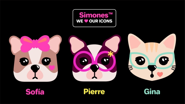 WE LOVE OUR ICONS SIMONES