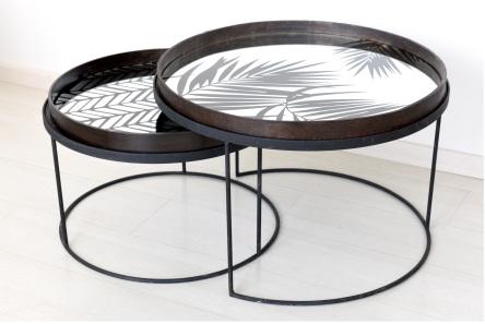Dans en Feria Puro Diseño del 11 al 14-10-18(Foto Producto Duo de mesas circulares)_media