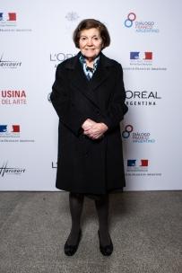 Beatriz Chomnalez en la presentación de Mujeres Argentinas de L'Oréal