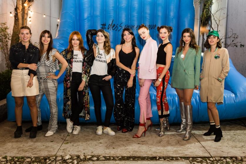 Calu Rivero, Belen Chavanne, Mel Garat y amigas de la marca en el evento de Desiderata (2).jpg