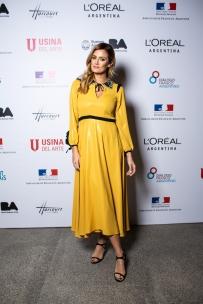 Paula Chaves en la presentación de Mujeres Argentinas de L'Oréal