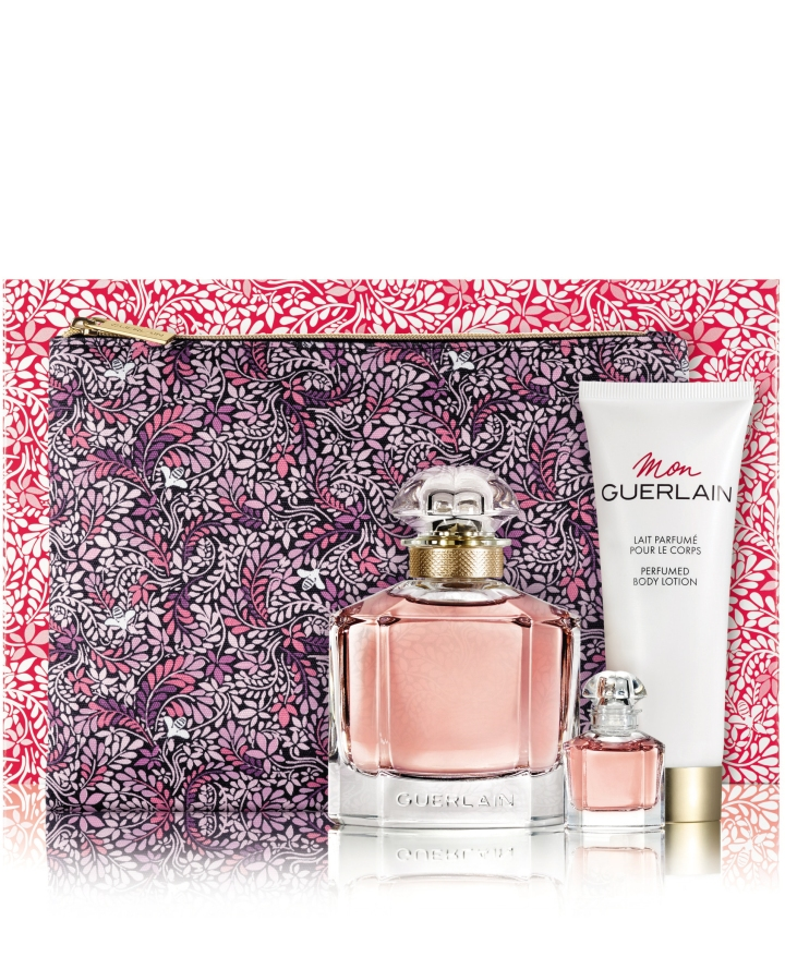 Set Mon Guerlain EDP 100ml + Body Lotion 75ml + Mini Mon Guerlain EDP 5ml + Dreams Pouch