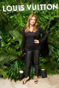 Flavia Palmeiro en la inauguración de Louis Vuitton en Argentina