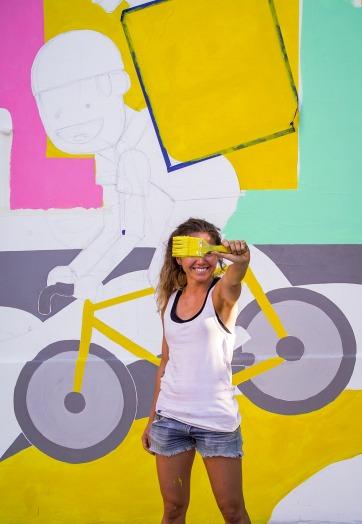 clara wall_mural glovo