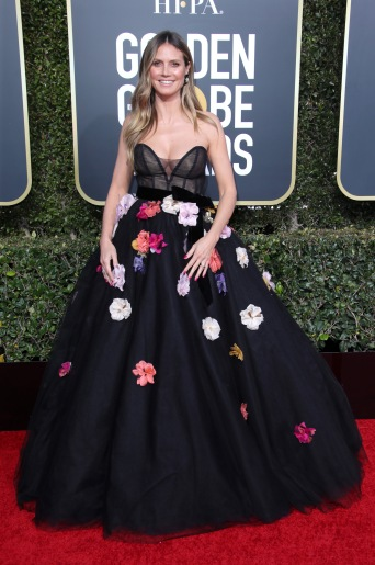 Mandatory Credit: Photo by Matt Baron/BEI/Shutterstock (10048067hu) Heidi Klum 76th Annual Golden Globe Awards, Arrivals, Los Angeles, USA - 06 Jan 2019