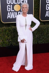 Mandatory Credit: Photo by David Fisher/Shutterstock (10048065ba) Jamie Lee Curtis 76th Annual Golden Globe Awards, Arrivals, Los Angeles, USA - 06 Jan 2019