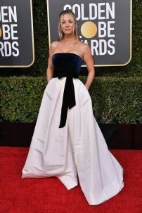 Mandatory Credit: Photo by Rob Latour/Shutterstock (10048066il) Kaley Cuoco 76th Annual Golden Globe Awards, Arrivals, Los Angeles, USA - 06 Jan 2019