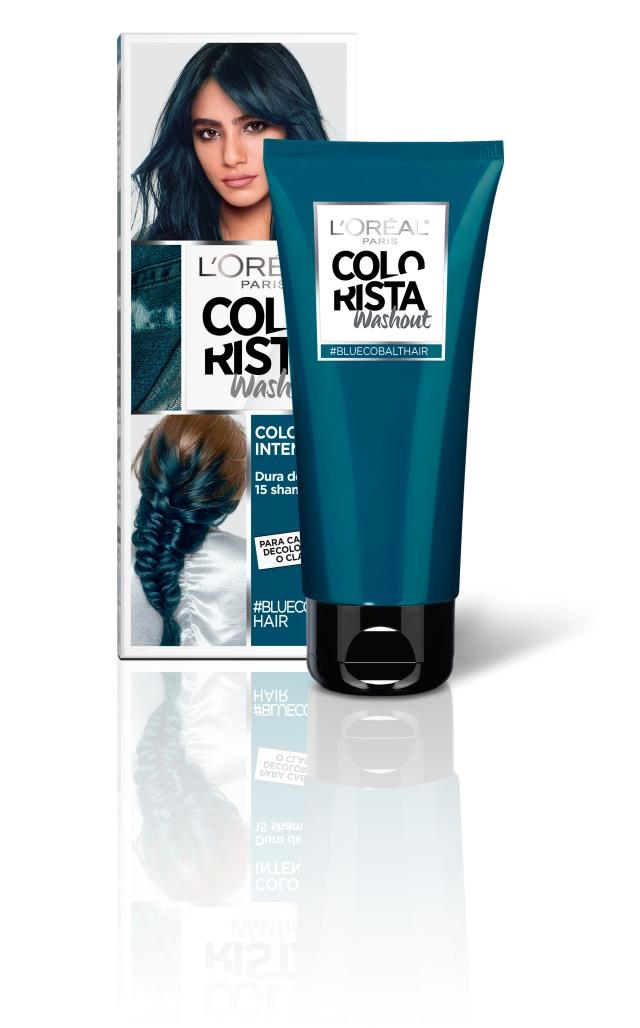 l'oréal paris colorista washout blue cobalthair