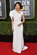 Mandatory Credit: Photo by Rob Latour/Shutterstock (10048066ca) Sandra Oh 76th Annual Golden Globe Awards, Arrivals, Los Angeles, USA - 06 Jan 2019