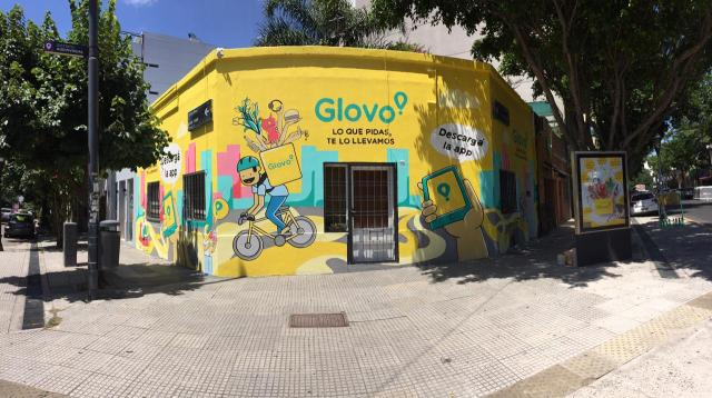 Mural Glovo_Palermo