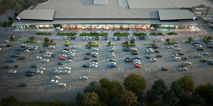 Render_Luján Walk_estacionamiento