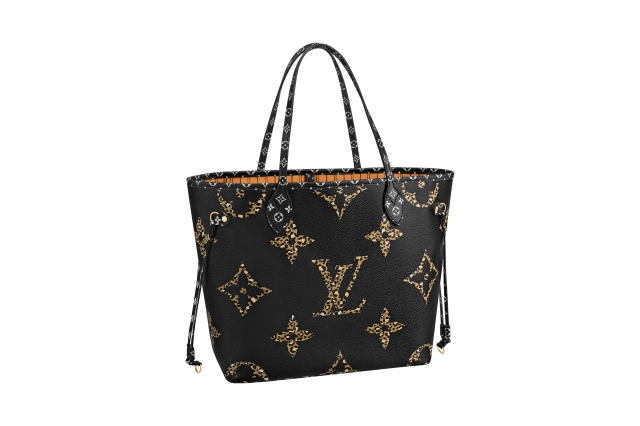 3-Neverfull in Monogram canvas Giant Jungle