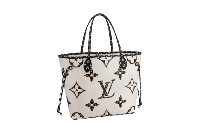 4-Neverfull in Monogram canvas Giant Jungle