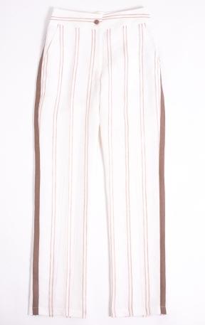 Le Porté. Pantalón Arles en lino. $5.485.