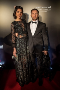 Nicolas Riera y pareja