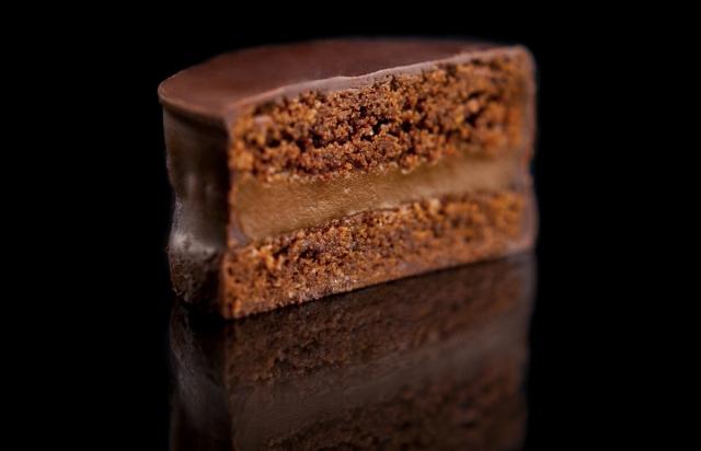 alfajor de chocolate