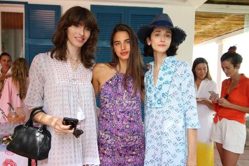 Dafne Cejas, Azul Gonzalez Apericio y Cecilia Mendez