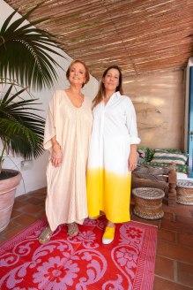 Roberta Freymann y Gabriela Herbstein presentaron su nueva marca Ro´s Garden