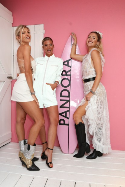 STEPHIE DEMNER, CALE RUGGERI Y STEFANIA ROITMAN EN PANDORA BEACH HOUSE BIG EVENT2