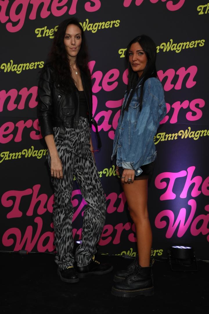 Flavia López Foco y Martina Brucco en el lanzamiento de The Ann Wagners