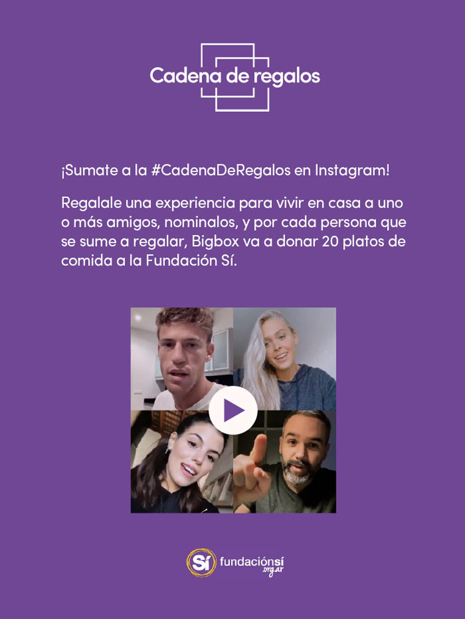 Bigbox_Cadena De Regalos